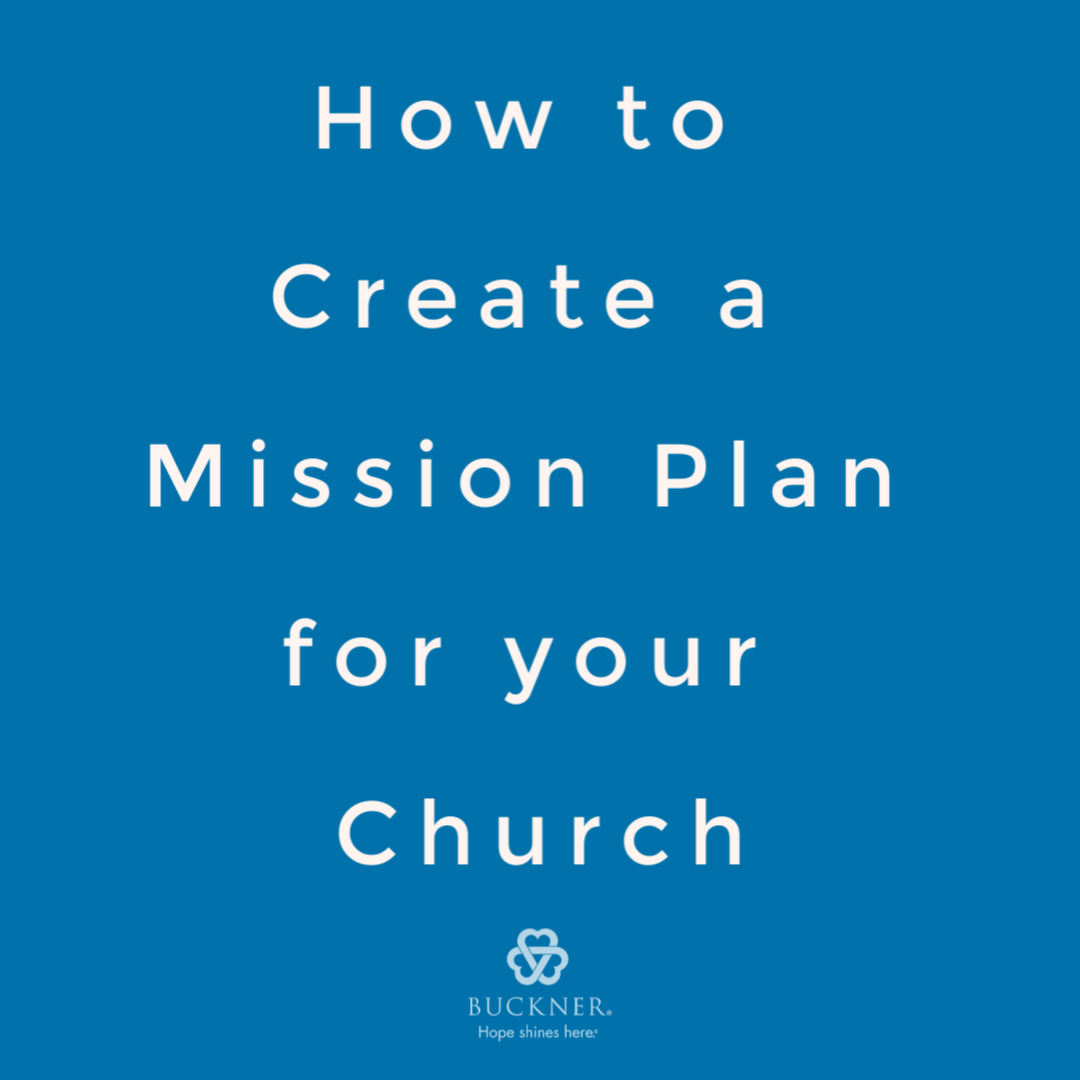 Church Mission Plan